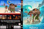 Moana (2016) R0 CUSTOM Cover & label