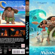 Moana (2016) R0 CUSTOM Cover & label