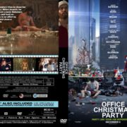 Office Christmas Party (2016) R0 CUSTOM Cover & label