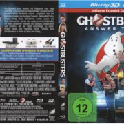 Ghostbusters 3D (2016) R2 German Blu-Ray Cover