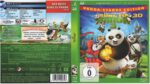 Kung Fu Panda 3D (2016) R2 German Blu-Ray Cover