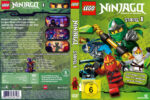 Lego Ninjago Master of Spinjitzu – Staffel 1 (2011) R2 German Custom Cover & labels