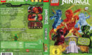 Lego Ninjago Master of Spinjitzu - Staffel 2 (2012) R2 German Custom Cover & labels