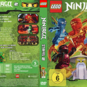 Lego Ninjago Master of Spinjitzu – Staffel 2 (2012) R2 German Custom Cover & labels