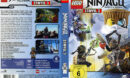 Lego Ninjago Master of Spinjitzu - Staffel 3 (2014) R2 German Custom Cover & labels