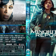Minority Report – The Serie (2015) R2 German Custom Cover & labels