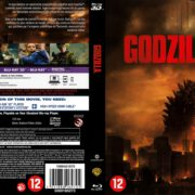 Godzilla 3D (2014) R2 Dutch Blu-Ray Cover