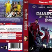 Guardians of the Galaxy 3D (2014) R2 Dutch Blu-Ray Cover