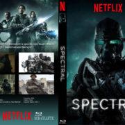 Spectral (2016) R0 Custom DVD Cover