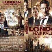 London Has Fallen (2016) R1 Custom DVD Cover