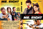Mr Right (2015) R1 Custom DVD Cover