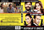 Keeping Up with the Joneses (2016) R0 Custom DVD Cover