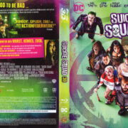 Suicide Squad 3D (2016) R2 German Blu-Ray Cover & labels