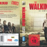 The walking dead Staffel 6 (2016) R2 Blu-Ray German Cover