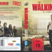 The walking dead Staffel 6 (2016) R2 Blu-Ray German Cover