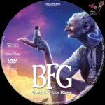 BFG Sophie und der Riese (2016) R2 German Custom Labels