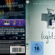 Lights Out (2016) R2 German Custom Blu-Ray Cover & label