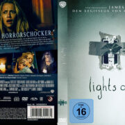 Lights Out (2016) R2 German Custom Cover & label