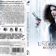 Underworld 5 Blood Wars (2016) R2 German Custom Blu-Ray Cover & labels