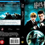 Harry Potter and the Order of the Phoenix (2007) R2 Blu-Ray Dutch Cover
