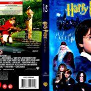 Harry Potter En De Steen Der Wijzen (2001) R2 Blu-Ray Dutch Cover