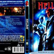Hellboy (2004) R2 Blu-Ray Dutch Cover