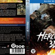 Hercules 3D (2014) R2 Blu-Ray Dutch Cover