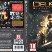 Deus Ex: Mankind Divided (2016) XBOX ONE French Cover & Label