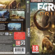 Far Cry Primal (2016) XBOX ONE French Cover & Label