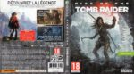Rise of the Tomb Raider (2015) XBOX ONE French Cover & Label
