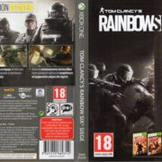 Tom Clancy's Rainbow Six: Siege (2015) XBOX ONE French Cover & Label