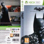 Batman Arkham Origins (2013) XBOX 360 French Cover