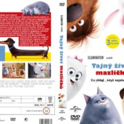 Pets (2016) R2 Custom Czech DVD Cover