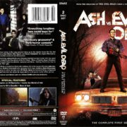 Ash vs Evil Dead – The Complete First Season (2015) R1 DVD Cover & Label