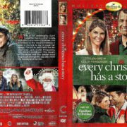 Every Christmas Has A Story (2016) R1 DVD Cover & Label