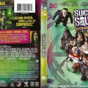 Suicide Squad (Extended Cut) Unrated (2016) R1 Blu-Ray Cover & Labels