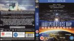 Independence Day: Resurgence (2016) R2 Blu-Ray Cover & Label