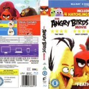 The Angry Birds Movie (2016) R2 Blu-Ray Cover & Label