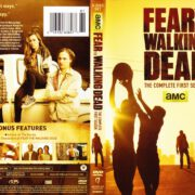 Fear The Walking Dead Season 1 (2015) R1 DVD Cover & Label