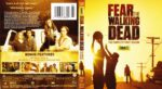Fear The Walking Dead Season 1 (2015) R1 Blu-Ray Cover & Label