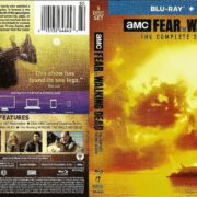 Fear the Walking Dead Season 2 (2016) R1 Blu-Ray Cover & Label