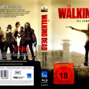 The Walking Dead Staffel 3 (2012) R2 Blu-Ray German Cover