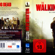 The Walking Dead Staffel 5 (2015) R2 Blu-Ray German Cover