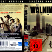 The Walking Dead Staffel 1-6 (2010-2016) R2 Blu-Ray German Covers