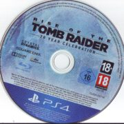 Rise of the Tomb Raider (2016) PS4 German Label
