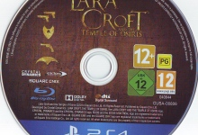 Lara Croft And The Temple of Osiris (2014) PS4 German Label