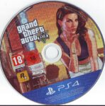 Grand Theft Auto Five (2013) PS4 German Label