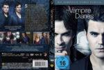 The Vampire Diaries Staffel 7 (2016) R2 German Custom Cover & labels