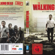 The Walking Dead Staffel 6 (2016) R2 German Cover & labels