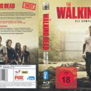 The Walking Dead Staffel 6 (2016) R2 German Blu-Ray Cover & labels
